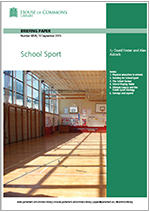 House Of Commons School Sport