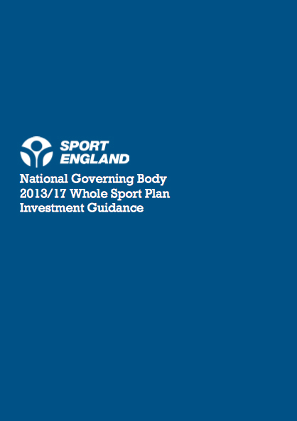 Sport England Whole Sport Plan